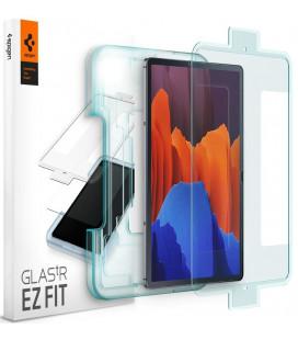 """Apsauginis grūdintas stiklas Samsung Galaxy Tab S7 Plus 12.4 T970/T976 planšetei """"Spigen Glas.TR EZ Fit"""""""