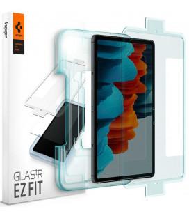 """Apsauginis grūdintas stiklas Samsung Galaxy Tab S7 11.0 T870/T875 planšetei """"Spigen Glas.TR EZ Fit"""""""