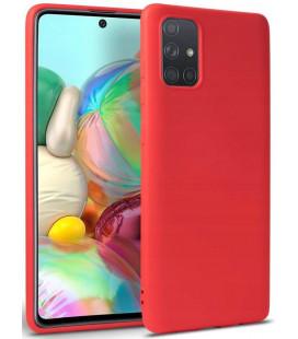 """Raudonas dėklas Samsung Galaxy M51 telefonui """"Tech-protect Icon"""""""