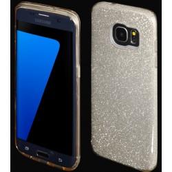 """Auksinės spalvos silikoninis blizgantis dėklas Samsung Galaxy S7 Edge G935F telefonui """"Blink"""""""