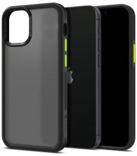 "Juodas dėklas Apple iPhone 12 Mini telefonui ""Spigen Cyrill Color Brick"""