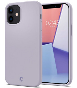 "Purpurinis dėklas Apple iPhone 12 Mini telefonui ""Spigen Cyrill Silicone"""
