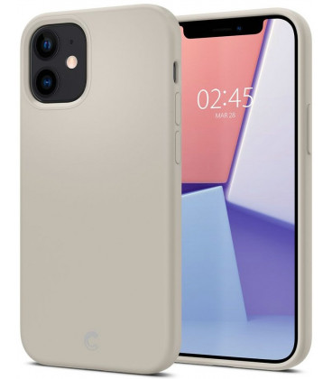 "Pilkas dėklas Apple iPhone 12 Mini telefonui ""Spigen Cyrill Silicone"""