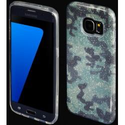 """Žalias silikoninis blizgantis dėklas Samsung Galaxy S7 Edge G935F telefonui """"Blink Moro"""""""