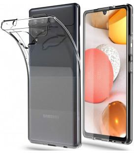 "Skaidrus dėklas Samsung Galaxy A42 5G telefonui ""Tech-Protect Flexair"""