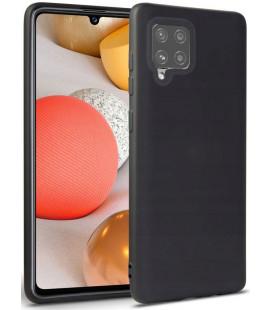"""Juodas dėklas Samsung Galaxy A42 5G telefonui """"Tech-protect Icon"""""""