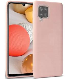 """Rožinis dėklas Samsung Galaxy A42 5G telefonui """"Tech-protect Icon"""""""
