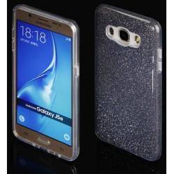 """Juodas silikoninis blizgantis dėklas Samsung Galaxy J5 2016 J510F telefonui """"Blink"""""""