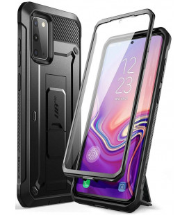 """Juodas dėklas Samsung Galaxy S20 FE telefonui """"Supcase Unicorn Beetle Pro"""""""