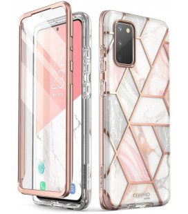"Dėklas su marmuro efektu Samsung Galaxy S20 FE telefonui ""Supcase Cosmo"""