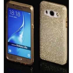 """Auksinės spalvos silikoninis blizgantis dėklas Samsung Galaxy J5 2016 J510F telefonui """"Blink"""""""