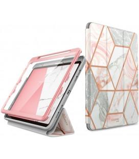 """Atverčiamas dėklas Apple iPad Air 4 2020 planšetei """"Supcase Cosmo Marble"""""""