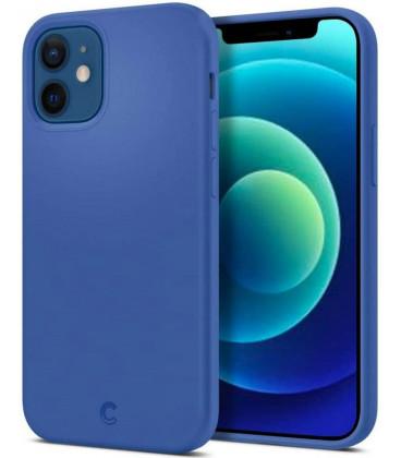 "Mėlynas dėklas Apple iPhone 12 Mini telefonui ""Spigen Cyrill Silicone"""