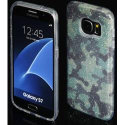 """Žalias silikoninis blizgantis dėklas Samsung Galaxy S7 G930F telefonui """"Blink Moro"""""""