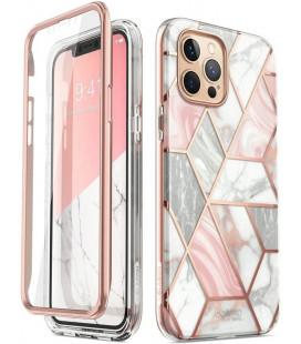 """Dėklas su marmuro efektu Apple iPhone 12 Pro Max telefonui """"Supcase Cosmo"""""""