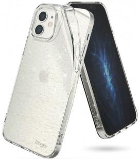 """Skaidrus dėklas su blizgučiais Apple iPhone 12 Mini telefonui """"Ringke Air"""""""