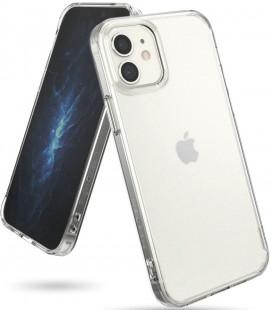 "Matinis skaidrus dėklas Apple iPhone 12 Mini telefonui ""Ringke Fusion"""