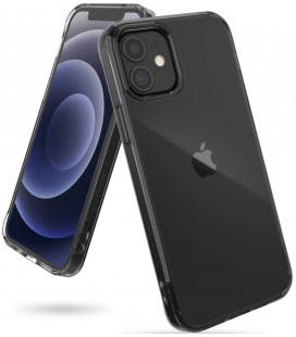"""Juodas dėklas Apple iPhone 12 Mini telefonui """"Ringke Fusion"""""""