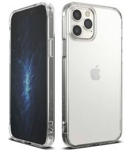 """Matinis skaidrus dėklas Apple iPhone 12/12 Pro telefonui """"Ringke Fusion"""""""