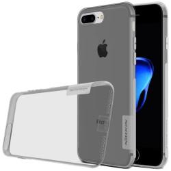 "Pilkas silikoninis dėklas Apple iPhone 7 Plus telefonui ""Nillkin Nature"""