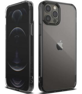 """Juodas dėklas Apple iPhone 12/12 Pro telefonui """"Ringke Fusion"""""""