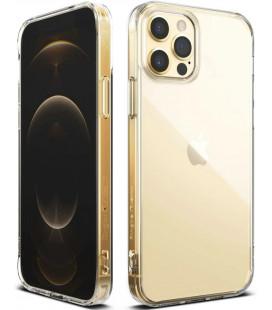 "Skaidrus dėklas Apple iPhone 12 Pro Max telefonui ""Ringke Fusion"""