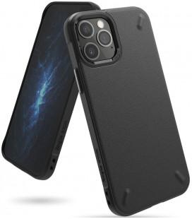 """Juodas dėklas Apple iPhone 12/12 Pro telefonui """"Ringke Onyx"""""""