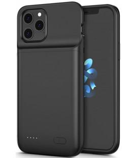 """Juodas dėklas su papildoma 4800mAh baterija Apple iPhone 12 Pro Max telefonui """"Tech-Protect Powercase"""""""