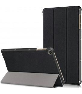 """Juodas atverčiamas dėklas Huawei MatePad T10/T10s planšetei """"Tech-Protect Smartcase"""""""