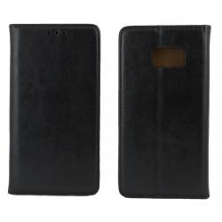 """Odinis juodas atverčiamas klasikinis dėklas Samsung Galaxy S7 telefonui """"Book Special Case"""""""