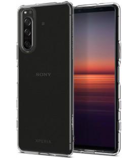 """Skaidrus dėklas Sony Xperia 5 II telefonui """"Spigen Liquid Crystal"""""""