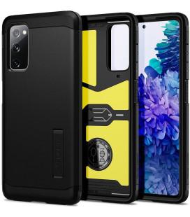"Juodas dėklas Samsung Galaxy S20 FE telefonui ""Spigen Tough Armor"""
