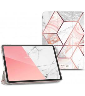 """Atverčiamas dėklas Apple iPad Air 4 2020 planšetei """"Supcase Cosmo Marble Lite"""""""