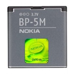 Originalus akumuliatorius 900mAh Li-ion NOKIA telefonams BP-5M