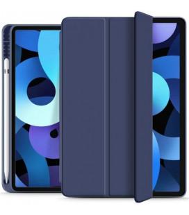 """Mėlynas atverčiamas dėklas Apple iPad Air 4 2020 planšetei """"Tech-Protect SC Pen"""""""