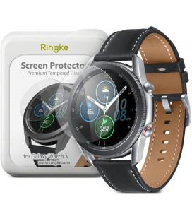 """Apsauginis grūdintas stiklas Samsung Galaxy Watch 3 45mm laikrodžiui """"Ringke ID-4Pack"""""""