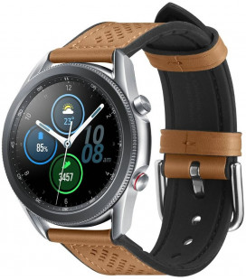 "Ruda apyrankė Samsung Galaxy Watch 3 45mm laikrodžiui ""Spigen Retro Fit Band"""