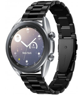 "Juoda apyrankė Samsung Galaxy Watch 3 41mm laikrodžiui ""Spigen Modern Fit Band"""