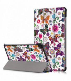 Dėklas Smart Leather Huawei MediaPad T3 10.0 butterfly