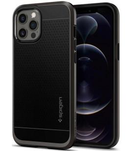 "Pilkas dėklas Apple iPhone 12 Pro Max telefonui ""Spigen Neo Hybrid"""