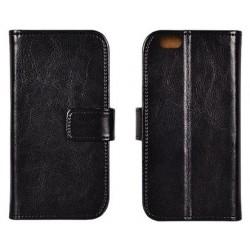 """Odinis juodas atverčiamas klasikinis dėklas Samsung Galaxy A3 2017 telefonui """"Book Special Case"""""""