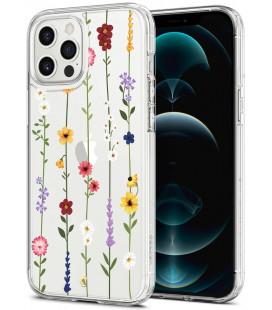 "Dėklas su gėlėmis Apple iPhone 12 Pro Max telefonui ""Spigen Cyrill Cecile Flower Garden"""