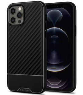 "Juodas dėklas Apple iPhone 12 Pro Max telefonui ""Spigen Core Armor"""