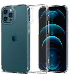 """Skaidrus dėklas Apple iPhone 12 Pro Max telefonui """"Spigen Ultra Hybrid"""""""