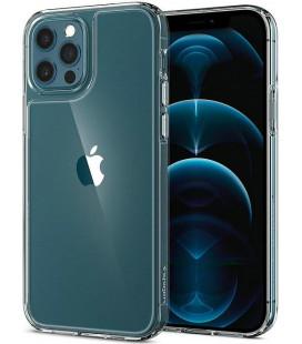 "Skaidrus dėklas Apple iPhone 12/12 Pro telefonui ""Spigen Quartz Hybrid"""