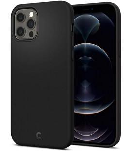 "Juodas dėklas Apple iPhone 12/12 Pro telefonui ""Spigen Cyrill Silicone"""