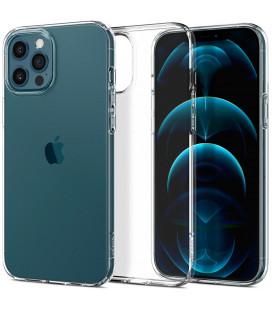 """Skaidrus dėklas Apple iPhone 12/12 Pro telefonui """"Spigen Liquid Crystal"""""""