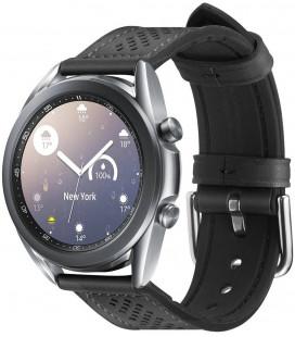 "Juoda apyrankė Samsung Galaxy Watch 3 41mm laikrodžiui ""Spigen Retro Fit Band"""