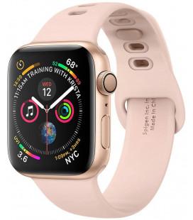 """Rausvai auksinės spalvos apyrankė Apple Watch 2/3/4/5/6/SE (38/40mm) laikrodžiui """"Spigen Air Fit Band"""""""