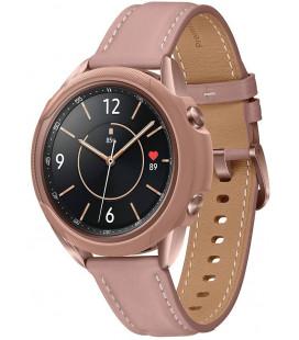 """Brozinės spalvos dėklas Samsung Galaxy Watch 3 41mm laikrodžiui """"Spigen Liquid Air"""""""